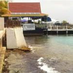 De bouwwerkzaamheden waren al in volle gang - foto: Stinapa Bonaire