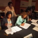 Voorzitters van de drie landen tekenen de tripartite afspraken – foto: Ariën Rasmijn