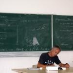 Een commissie buigt zich over de instructietaal op school in Statia - foto: Anneke Polak