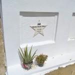 Het graf van Helmin Wiels in Veeris - foto: Dick Drayer