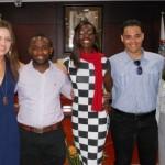 De ambassadeurs van de vijf debat teams -  foto Today / Hilbert Haar