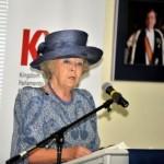 Prinses Beatrix opende het Koninkrijks jeugdparlement - foto Today / Milton Pieters