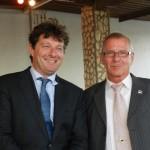 David van Delft en Guus Schram foto Belkis Osepa