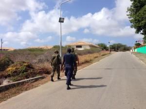 Bij de zoektocht naar de Carmelia's en Winklaar was 'combat trackers' van de Marine betrokken | foto: Koninklijke Marine