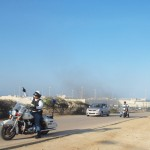 Beeld van de meest recente rellen in KIA. Foto: Ariën Rasmijn