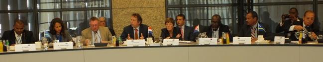 Afsluitende persconferentie IPKO - foto: Jamila Baaziz
