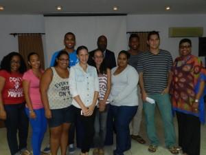 Bonairiaanse studenten die met S4 begeleiding naar Nederland vertrekken