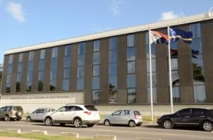 Het gebouw van de Centrale Bank in St. Maarten. foto Today / Milton Pieters