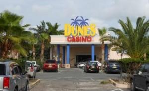 Het Dunes casino wordt mogelijk geveild met het gehele Caravanserai Resort. Foto Today / Hilbert Haar