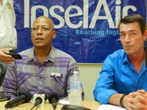 Heerenveen en Lippinkhof putten zich uit in verontschuldigingen op Bonaire | foto: Belkis Osepa