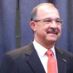 Gouverneur van Aruba Fredis Refunjol - foto: Jamila Baaziz