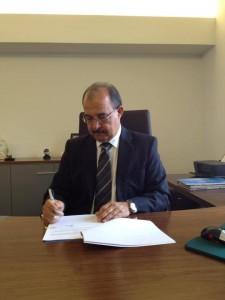 Gouverneur Fredis Refunjol - foto: KABGA