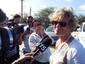 Rechter-commissaris Yvonne van Wersch. Foto: Ariën Rasmijn