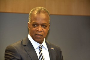 President  van de Centrale Bank, Emsley Tromp - Foto: Dick Drayer