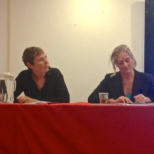 Susan van Velzen en Renske Pin (r)   Foto: Jean Mentens