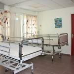 De medium care afdeling, waar patiënten liggen die veel zorg nodig hebben, is inmiddels gesloten.