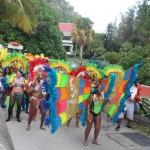 Kleurrijk carnaval op Saba - foto: Hazel Durand