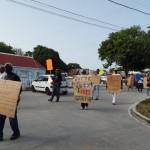 Protest tegen de huidige status - foto: The Daily Herald / Althea Merkman