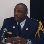 Politiewoordvoerder Alfred Suares