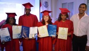 Afgestudeerden studenten MBO 1