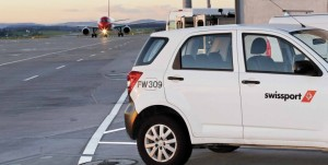 Personeel van Swissport Cargo services moet betrokken zijn geweest bij het cocaine transport. Foto swissport.com