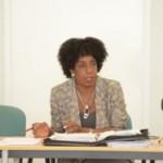Minister Irene Dick - foto: Tico Vos