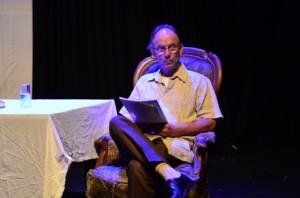 Jeroen Heuvel tijdens de repetitie | foto: Sabine Hendrikse