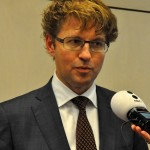 Staatssecretaris Sander Dekker van OCW - foto: Suzanne Koelega