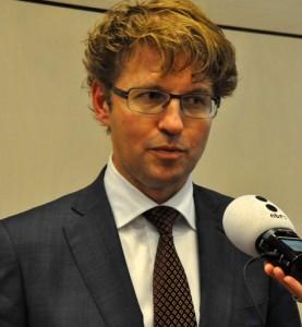 Staatssecretaris Sander Dekker - foto: Suzanne Koelega