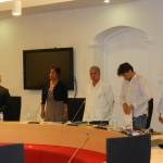 Slot van de vergadering nadatde motie was verworpen Foto Belkis Osepa