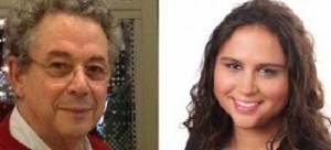 Freek van Beetz en Hassnah Elhage