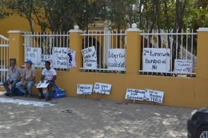 Groep voor het bestuurscollege Foto: Extra Bonaire