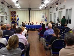 Meet & greet evaluatiecommissie op Saba - foto: Hazel Durand