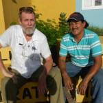Michiel Bijkerk en Luis Rodriguez Gamarro Foto Belkis Osepa