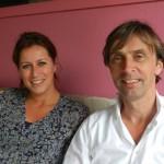 Hans Oosterveer en Yvonne Kraan Foto: Belkis Osepa
