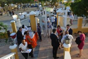 Evaluatiecommissie in gesprek met Bonairianen Foto Extra Bonaire