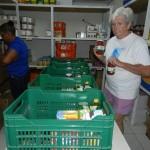 In het magazijn van Adra Food Pantry Foto Sofie Custers