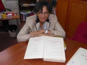 Bibliotheek-directeur Monique Alberts. Foto Today / Hilbert Haar