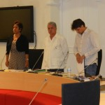 Fractie PDB in de raad foto Belkis Osepa