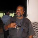 Gershon Lopes van Pro Statia wacht op de uitslag
