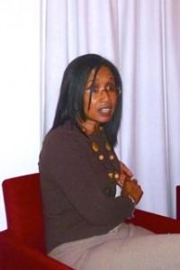 Mylene Testing, voorzitter van de Voedselbank | Foto: Dulce Koopman