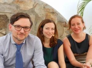 Vanaf links: Heywood, Baharav en Reiter. Foto Today / Hilbert haar
