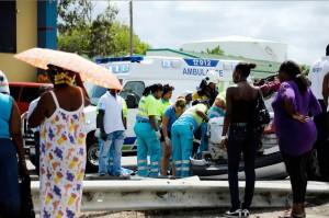 Een van de bijna 12.000 verkeersongelukken per jaar op Curaçao | Foto: Bea Moedt