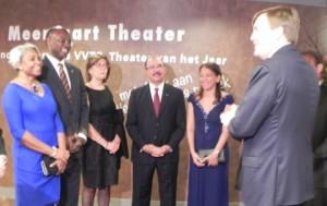 Caribische ontvangst van koning Willem-Alexander bij Koninkrijksconcert - foto: Jamila Baaziz