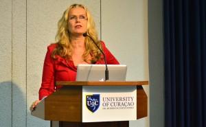 Criminologe, drs. Nelly Schotborgh   Foto: Dick Drayer