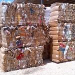 Geperst karton | foto: Bon Recycling