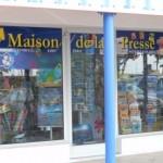 Maison de la Presse in Marigot - foto: Hilbert Haar