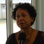 Intereim directeur SGB Lydia Emerencia | foto: Belkis Osepa