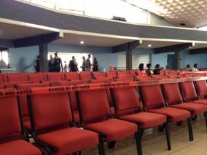 De publieke belangstelling voor de Hato-zaak was gering - foto: Anneke Polak