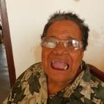 Jacoba Winklaar (80) heeft bijna geen tanden meer over   foto Belkis Osepa